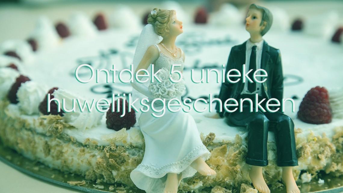 Plaatje van een taart met de tekst huwelijksgeschenken