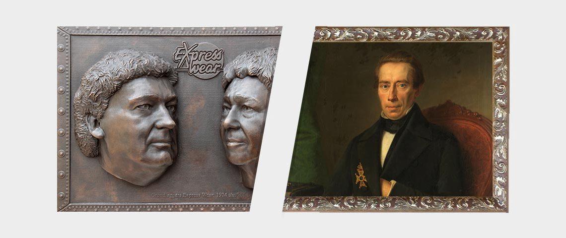 verschillen bronzen plaquette of schilderij, kiezen makkelijker gemaakt